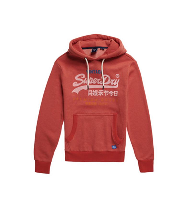 Comprar Superdry Sudadera Vl Tri rojo