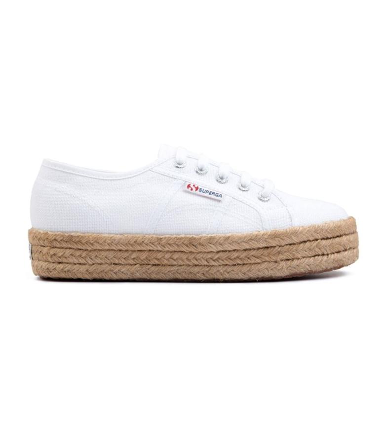 Comprar Superga Sneakers 2730 Cotropew Platform et Jute blanc