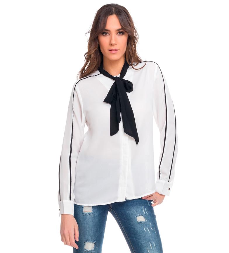 Tantra Camisa lazo blanco