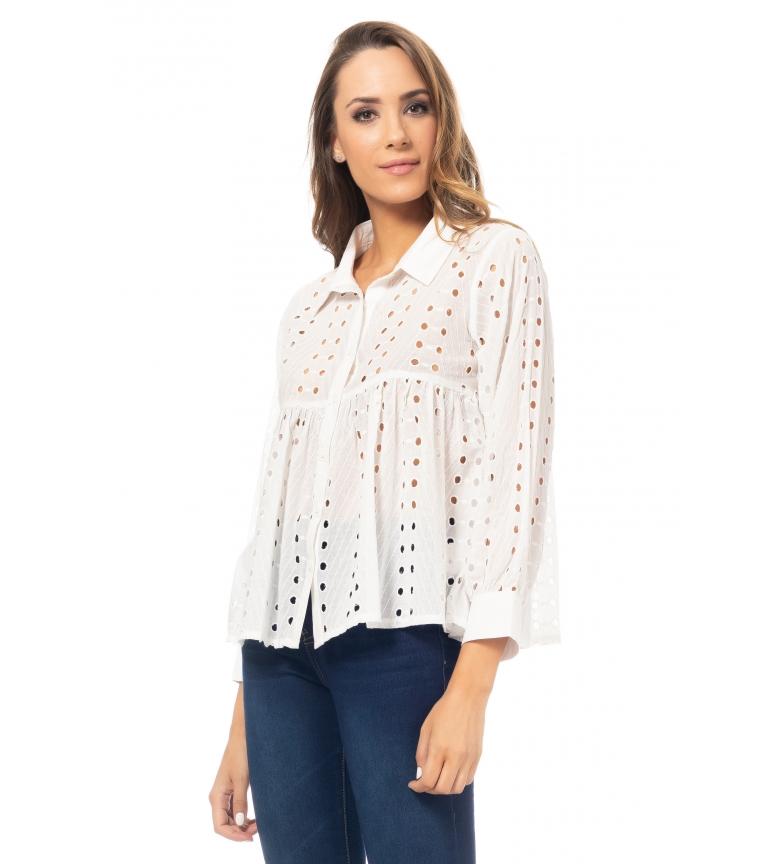 Comprar Tantra White flight blouse