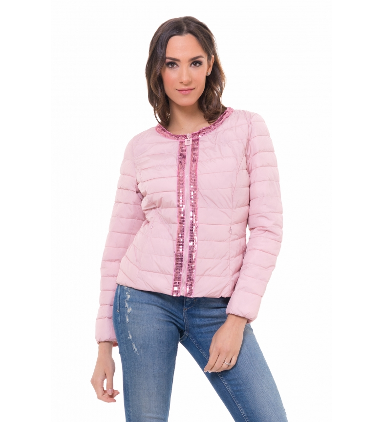 Comprar Tantra Short Anorak with Pink Sequins