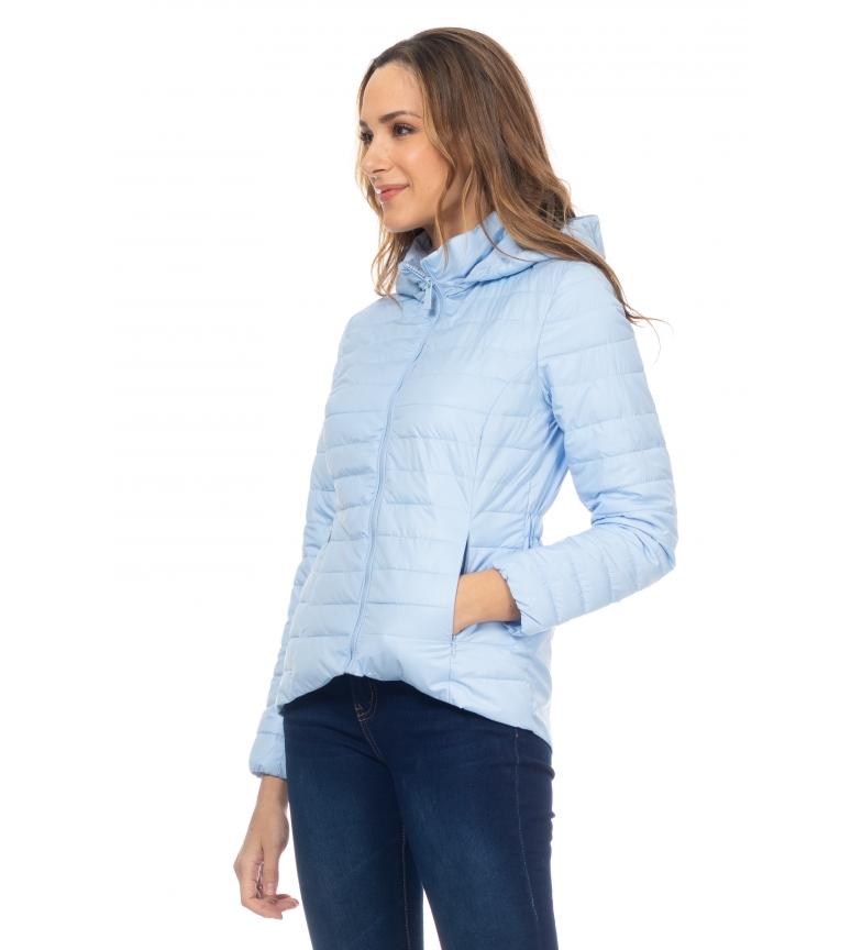 Comprar Tantra Anorak Corto con Capucha azul claro