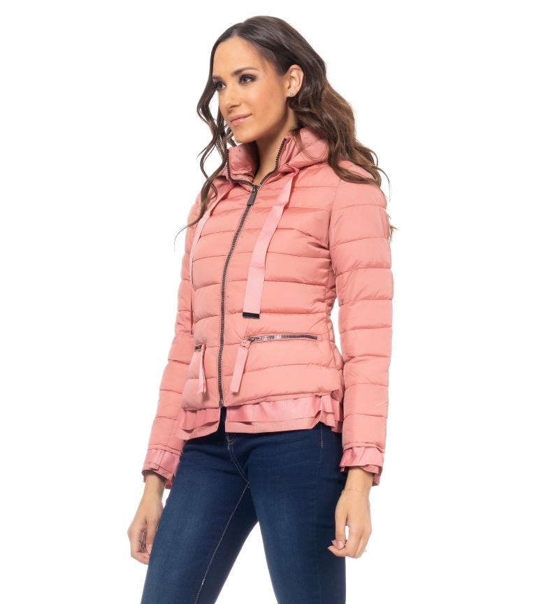 Comprar Tantra Short Jacket with Pink Hood