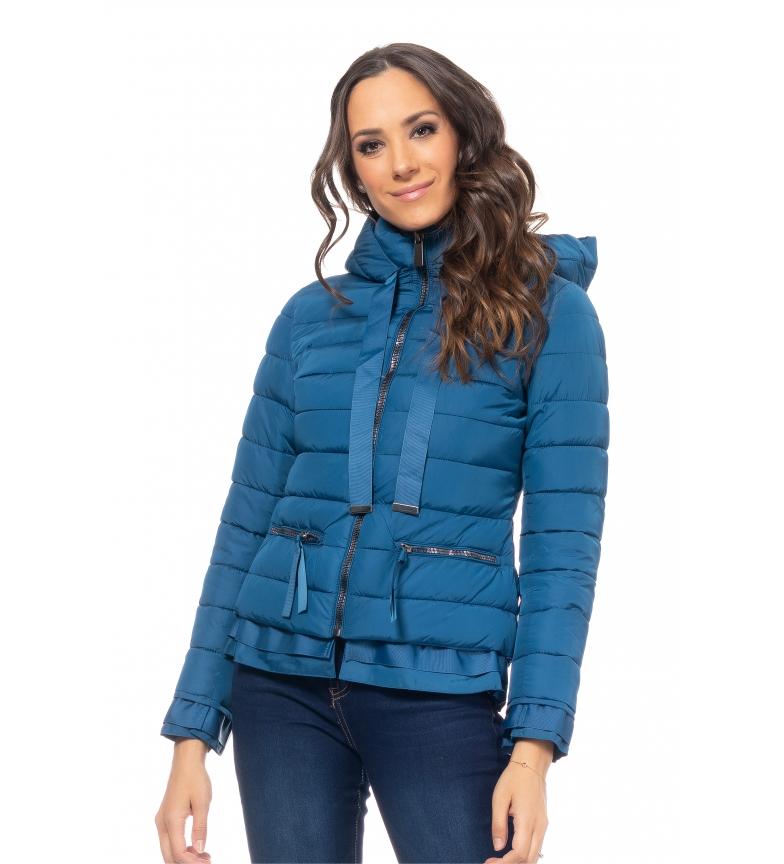 Comprar Tantra Short jacket with blue hood