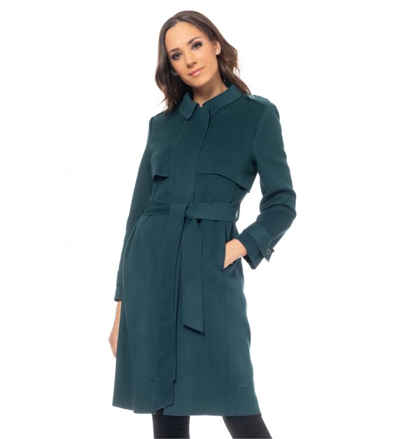 Comprar Tantra Manteau en laine verte