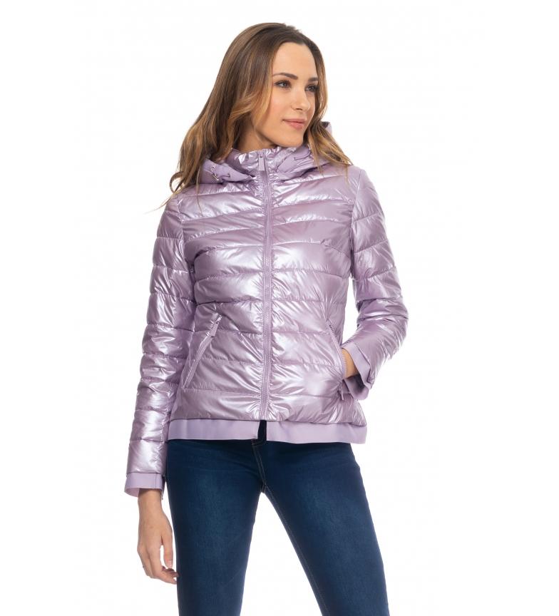 Comprar Tantra Anoraque Curto Metálico Púrpura