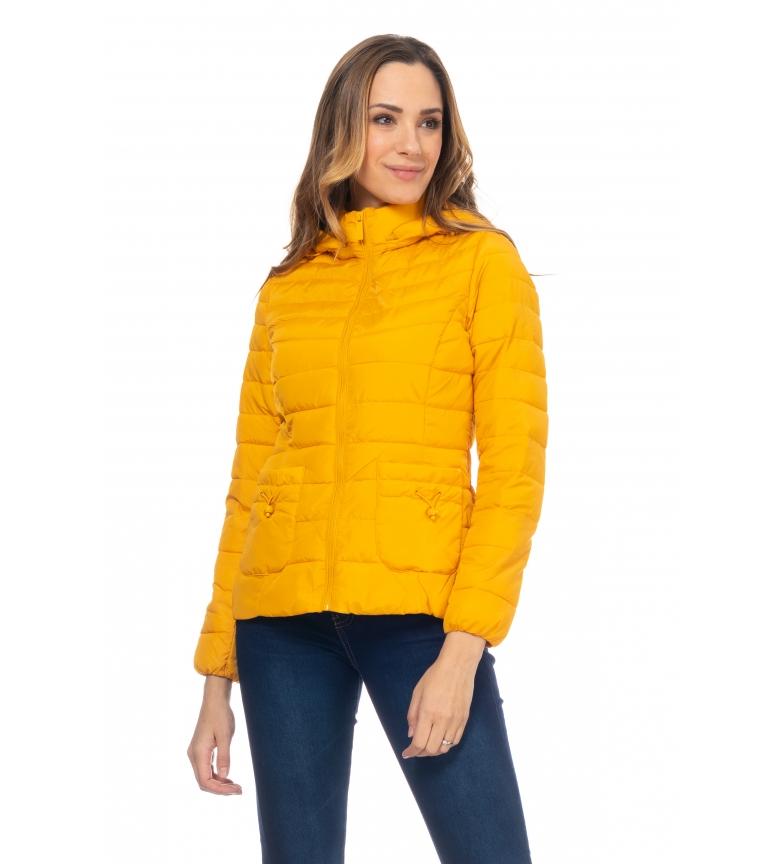 Comprar Tantra Anoraque de Capuz Amarelo Curto