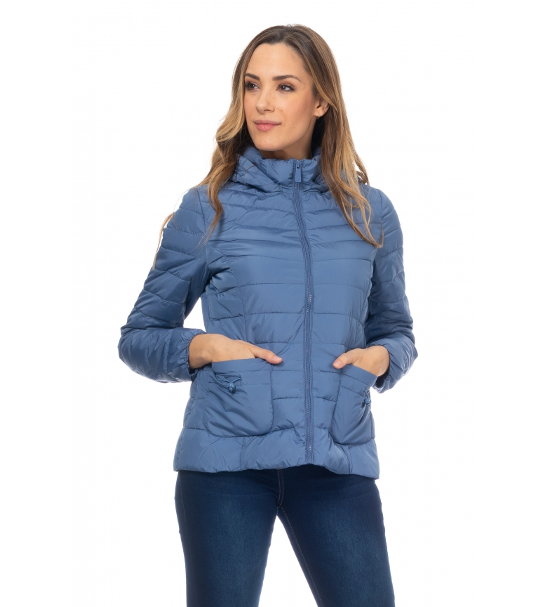 Comprar Tantra Blue Hooded Anorak curto