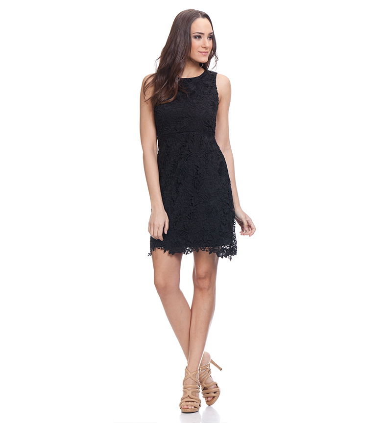Tantra Vestido entallado encaje negro