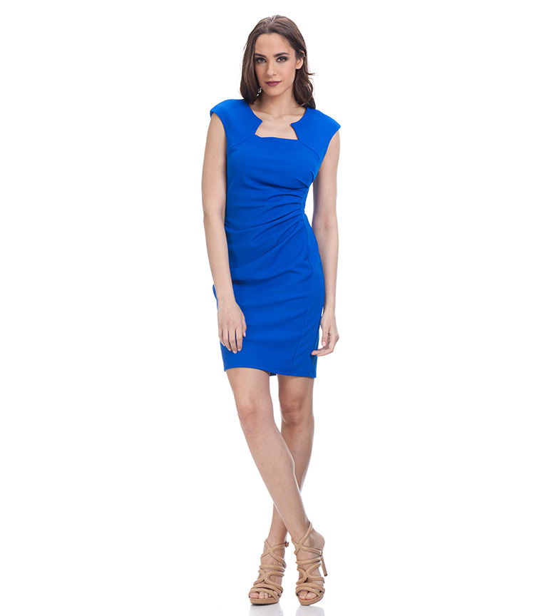 Entallado Azul Azul Vestido Entallado Entallado Tantra Vestido Tantra Azul Tantra Vestido QtrshdCx