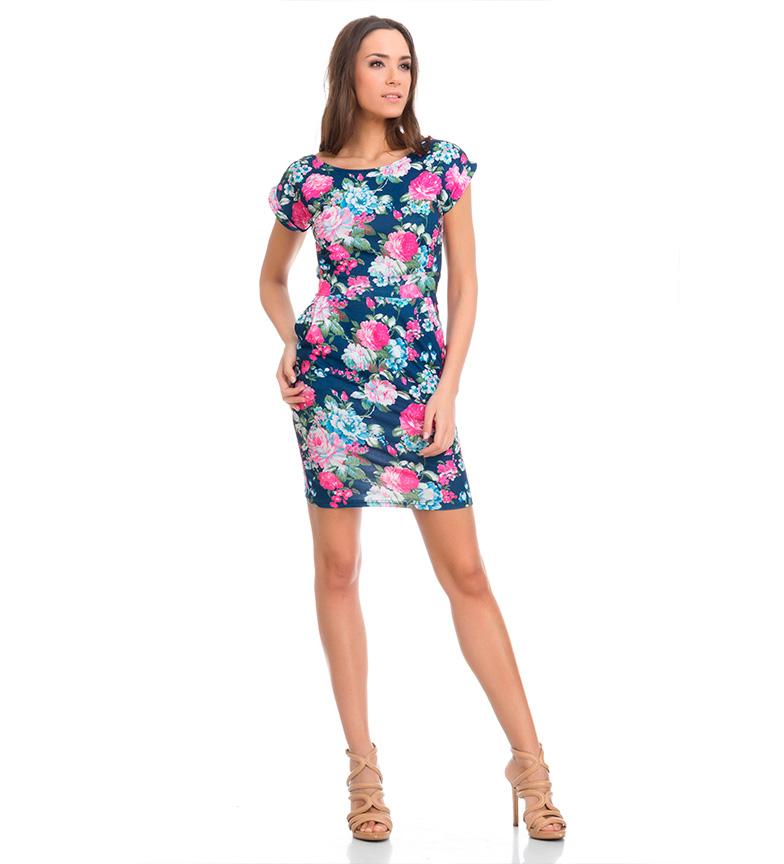 Tantra Vestido floral azul