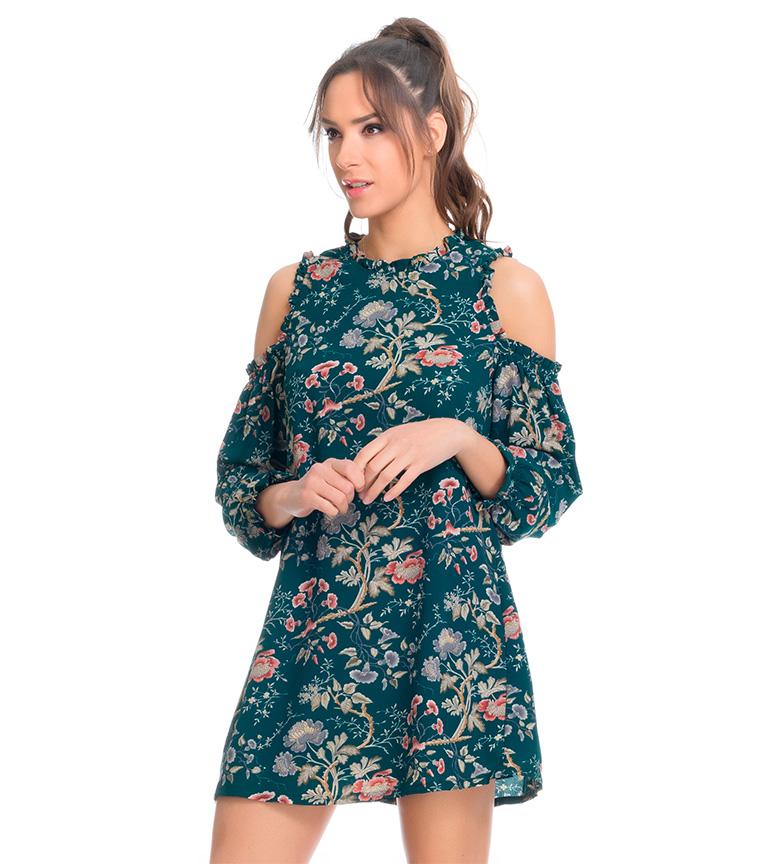 Tantra Vestido floral verde