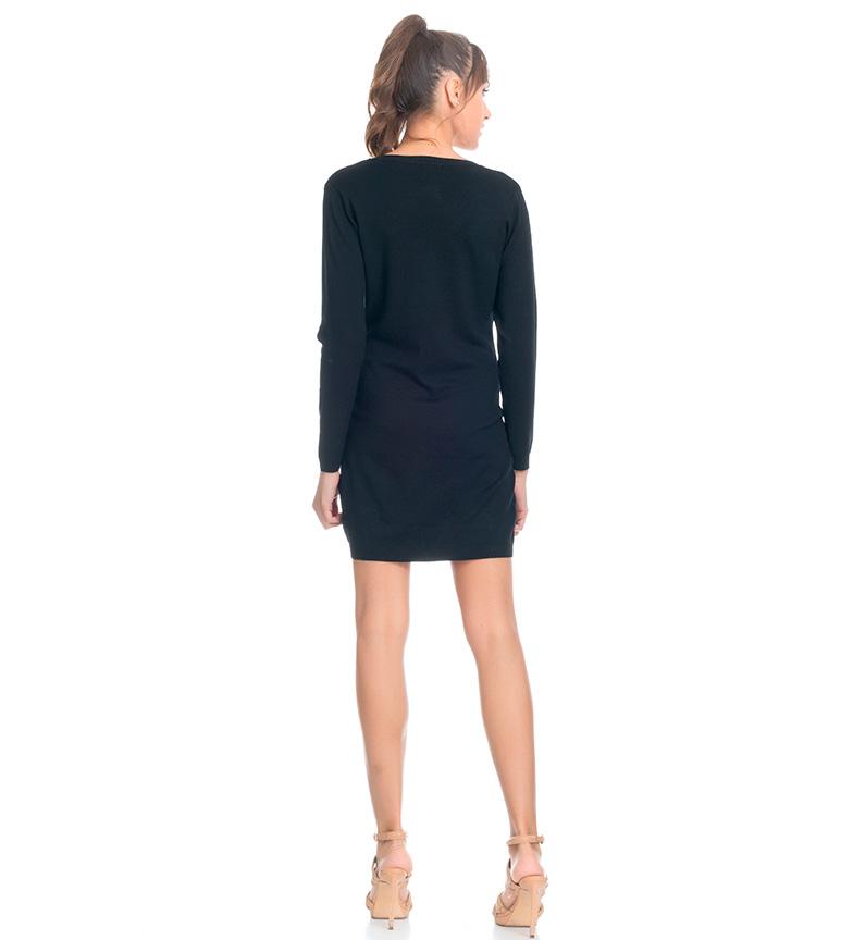 Tantra Vestido de punto negro