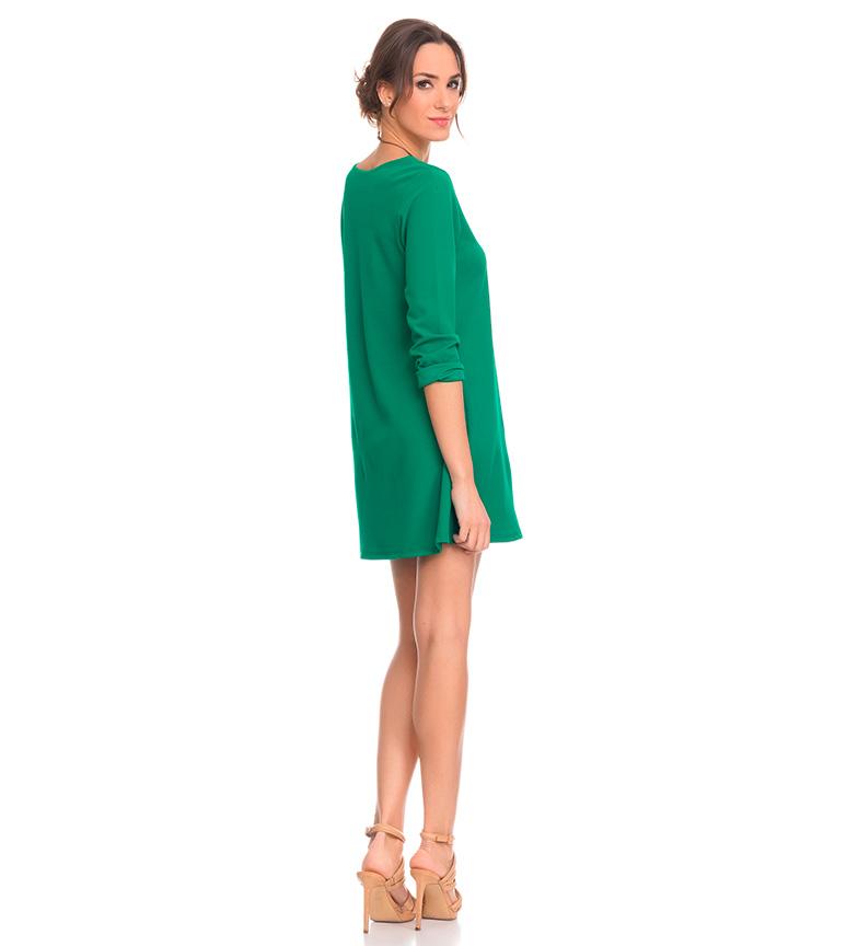 Tantra Vestido fluido verde