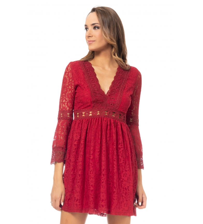 Comprar Tantra Red Lace Dress