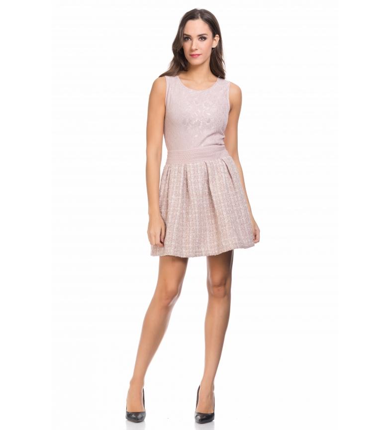 Comprar Tantra Vestido efecto 2 piezas rosa