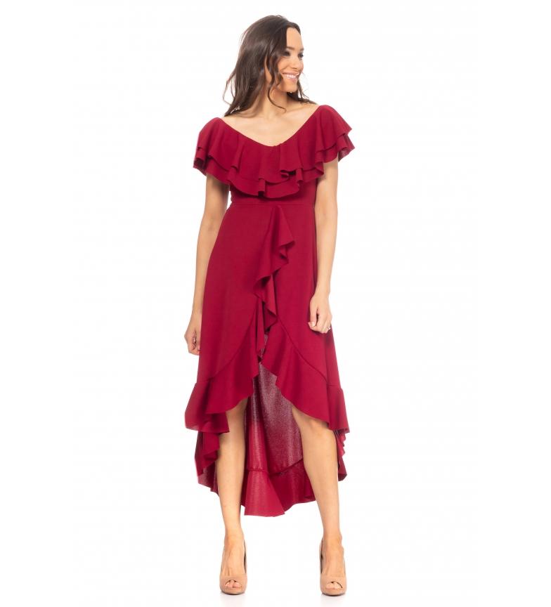 Comprar Tantra Bordeaux Asymmetric Dress