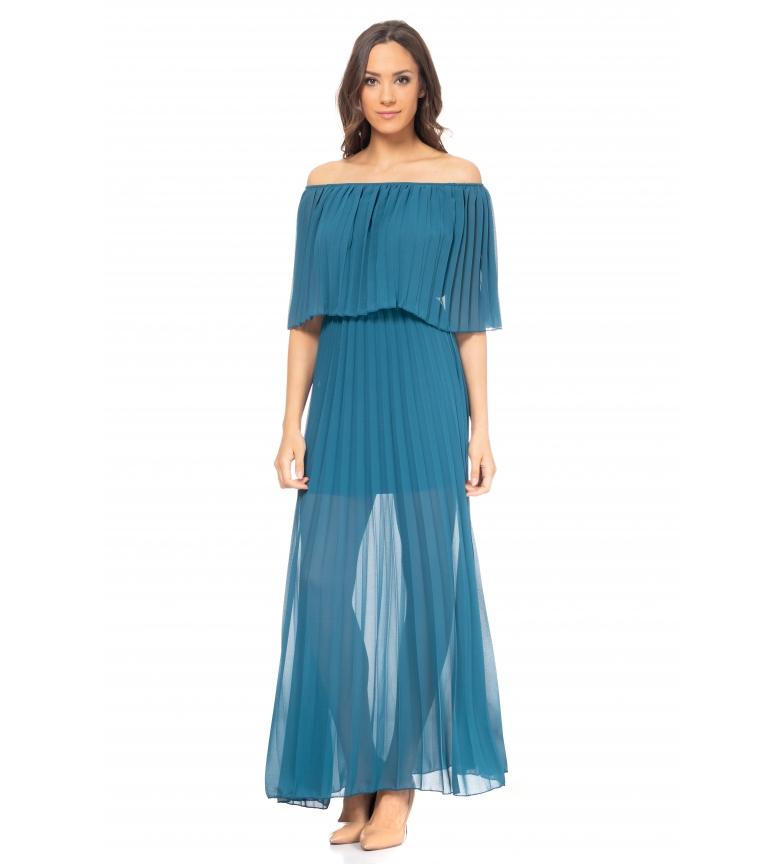 Comprar Tantra Long Dress Blue Pleated