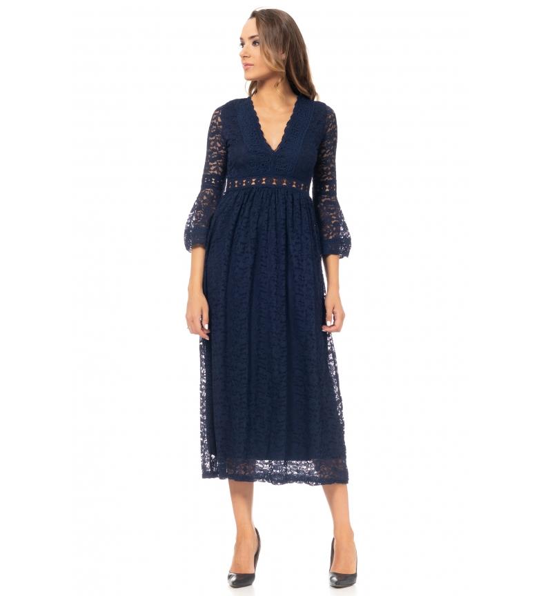 Comprar Tantra Vestito longuette blu scuro
