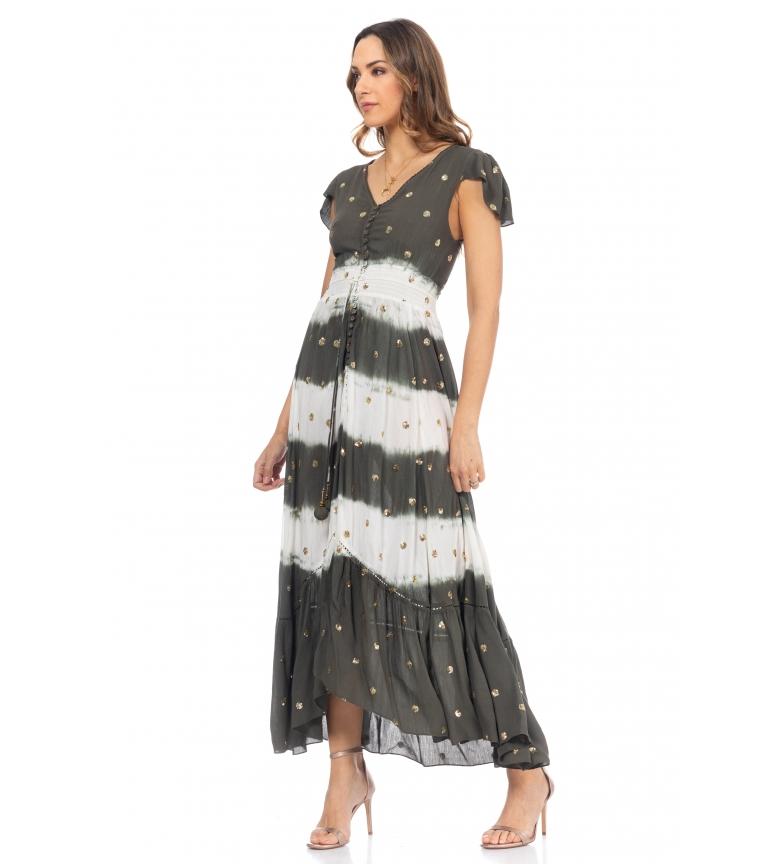 Comprar Tantra Khaki sequin long dress