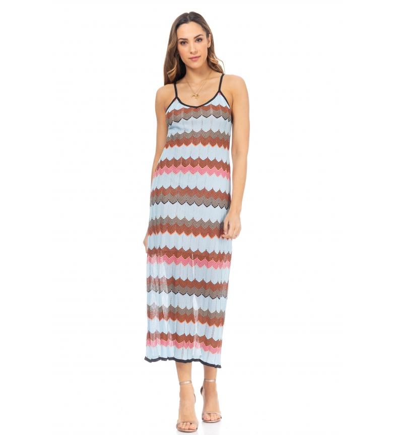 Comprar Tantra Vestido de malha azul