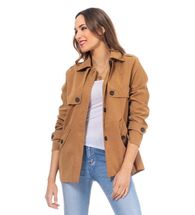 Comprar Tantra Camel short jacket