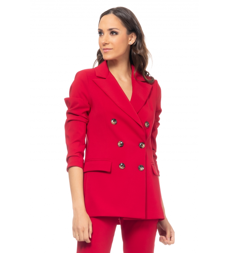 Comprar Tantra Jacket Double Button red