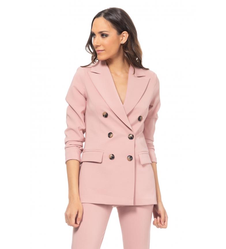 Comprar Tantra Casaco Duplo Buttonadura rosa