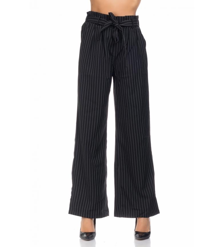aeb1818dfbac Tantra - Pantaloni larghi neri Donna Nero Casual Poliestere | eBay
