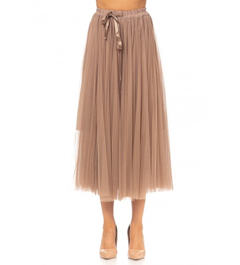 Comprar Tantra Falda de Tul marrón