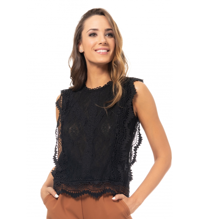 Comprar Tantra Black lace top