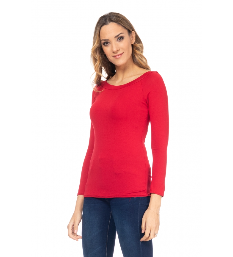 Comprar Tantra Red Boat Neck T-Shirt