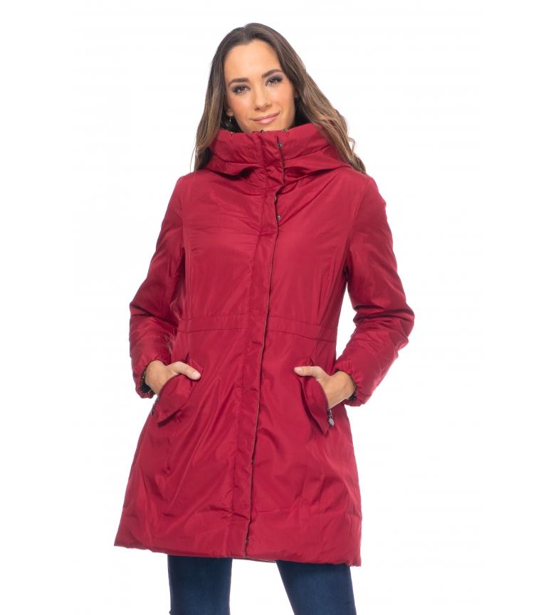 Comprar Tantra Anorak Jacket COAT8289 burgundy