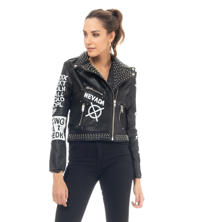Comprar Tantra Perfect Jacket Black Hand Painted