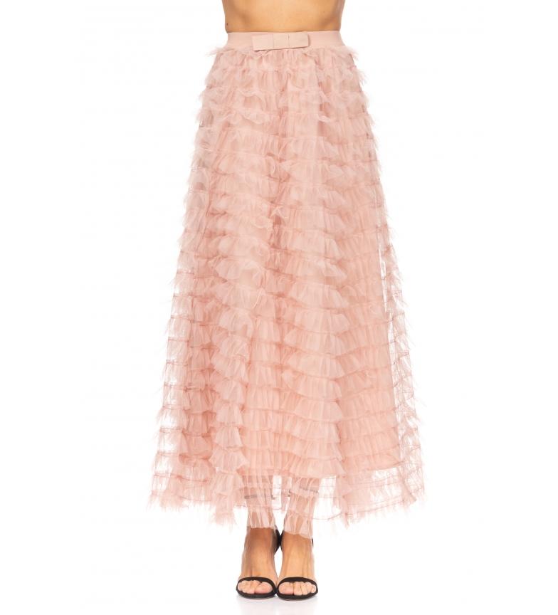 Comprar Tantra Falda Larga con Volantes de Tul rosa