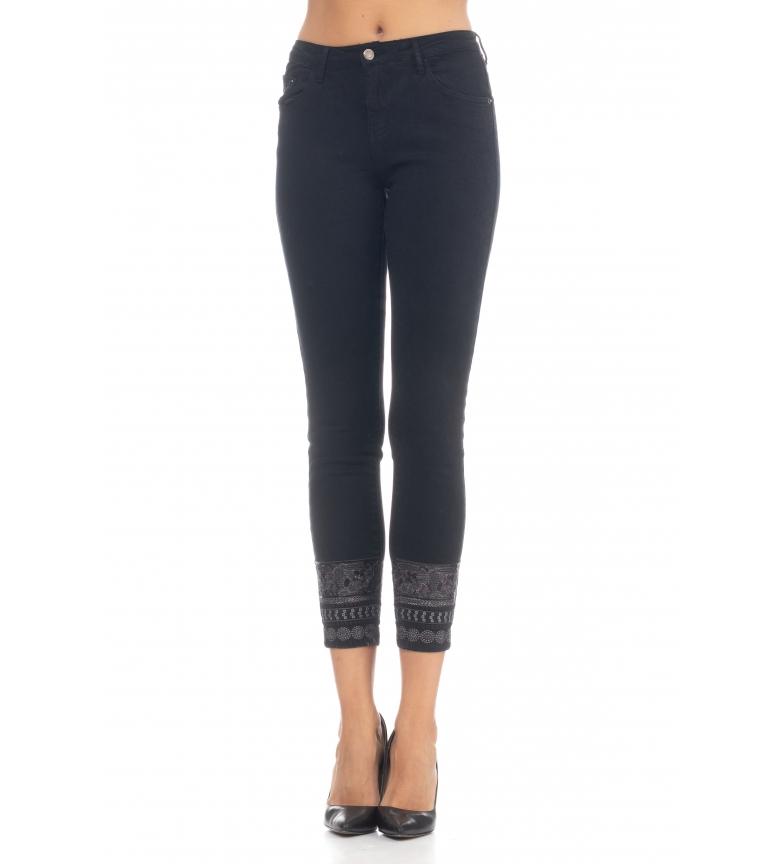 Comprar Tantra Jeans com lantejoulas pretas
