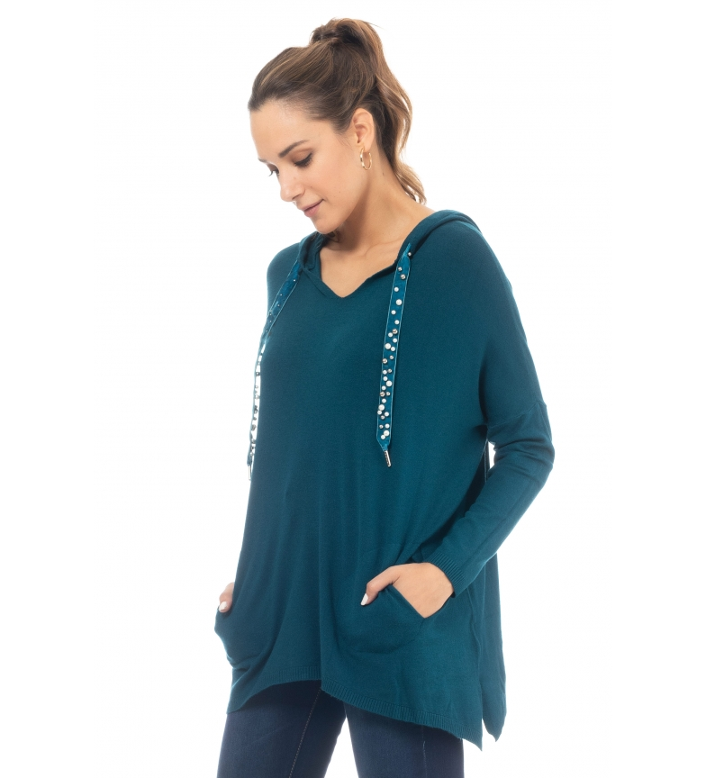 Comprar Tantra Sweater with blue pockets