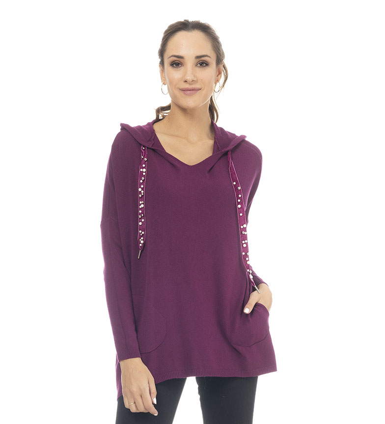 Comprar Tantra Sweater with purple pockets