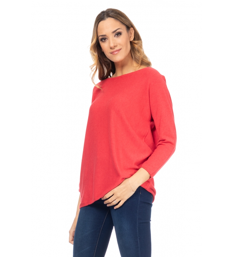 Comprar Tantra Pleated Red Neck Sweater