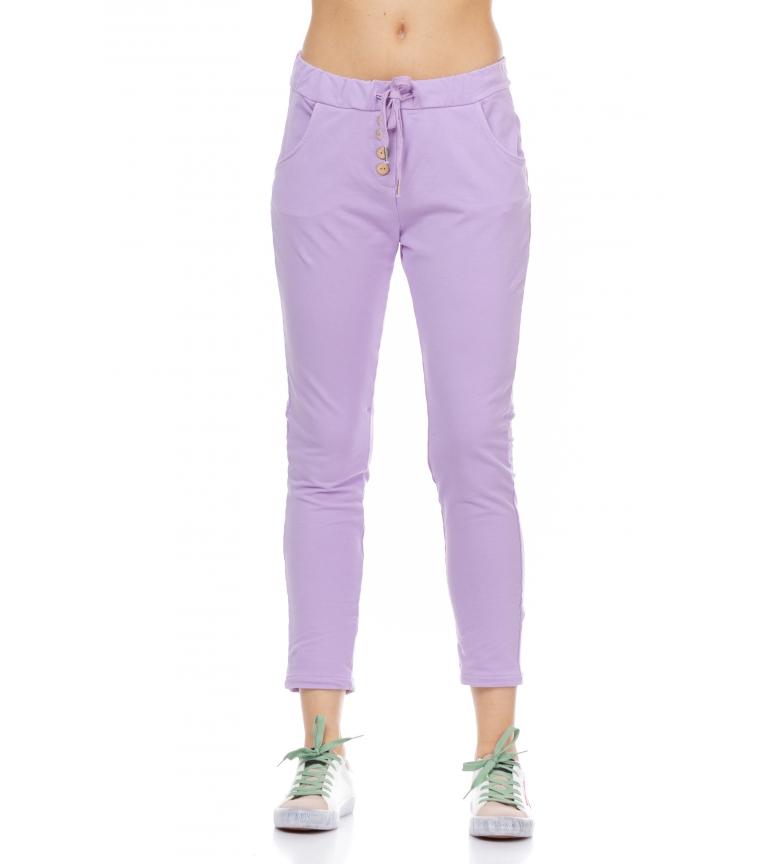 Comprar Tantra Pantaloni della tuta elastici in vita lilla