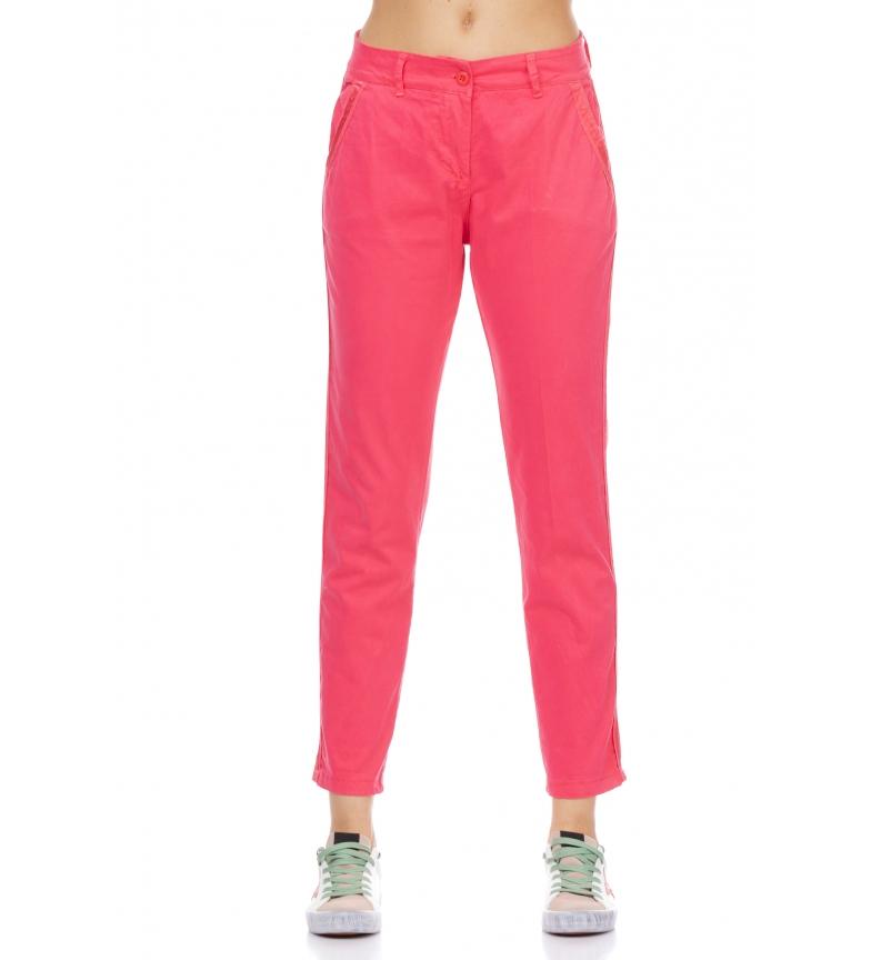 Comprar Tantra Pantaloni elasticizzati con tasche fucsia