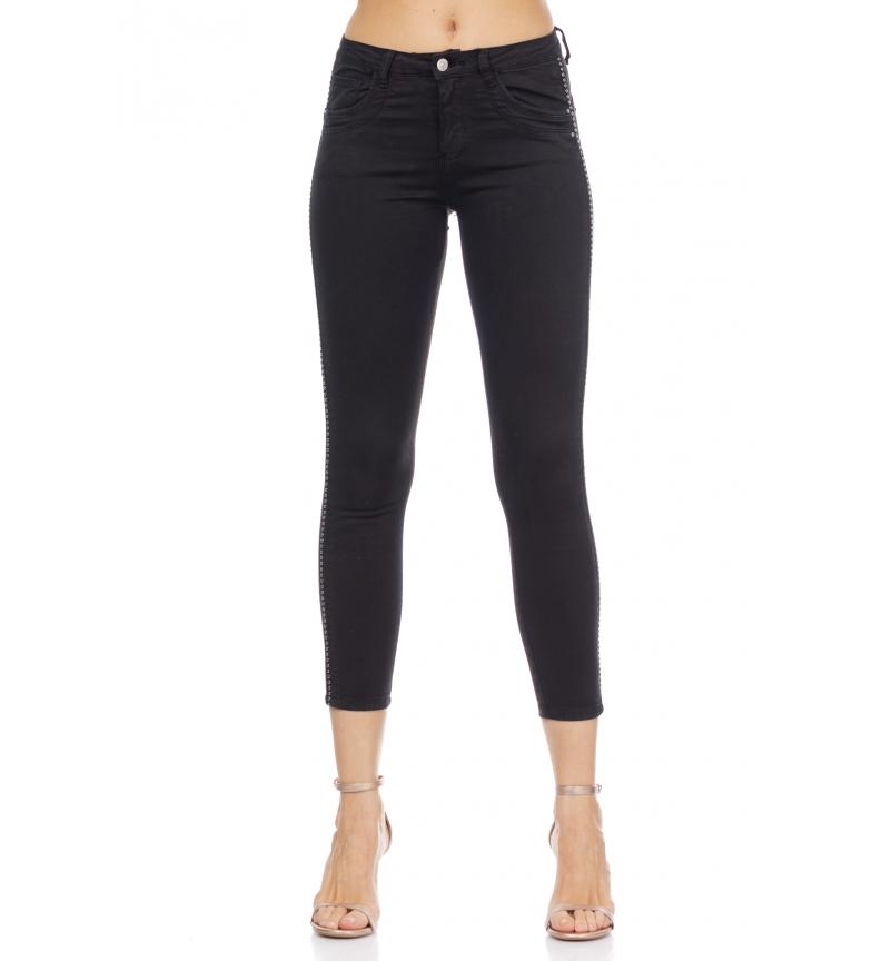 Comprar Tantra Pantaloni skinny in denim nero