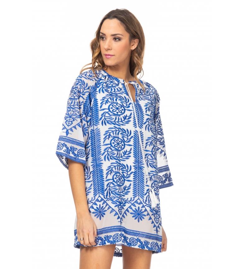 Comprar Tantra Vestido Bordado azul