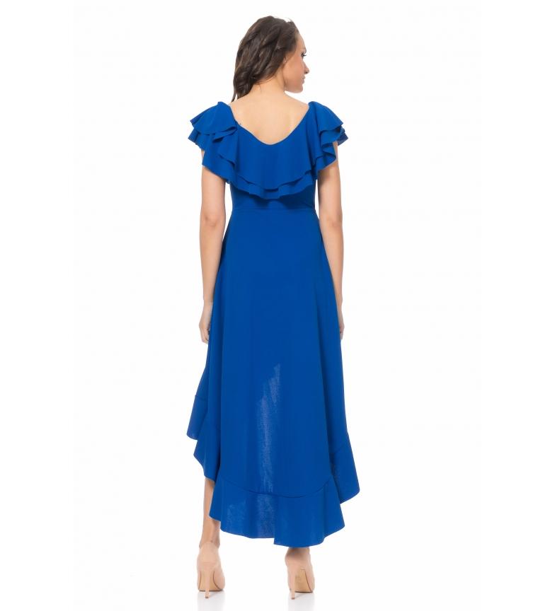 Azul Vestido Tantra Tantra Vestido Vestido Asimtrico Azul Tantra Asimtrico hdBoQsCtrx