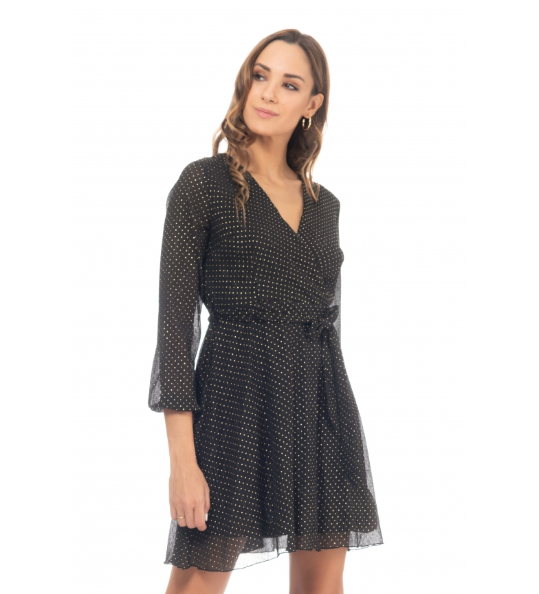 Comprar Tantra Black polka dots dress