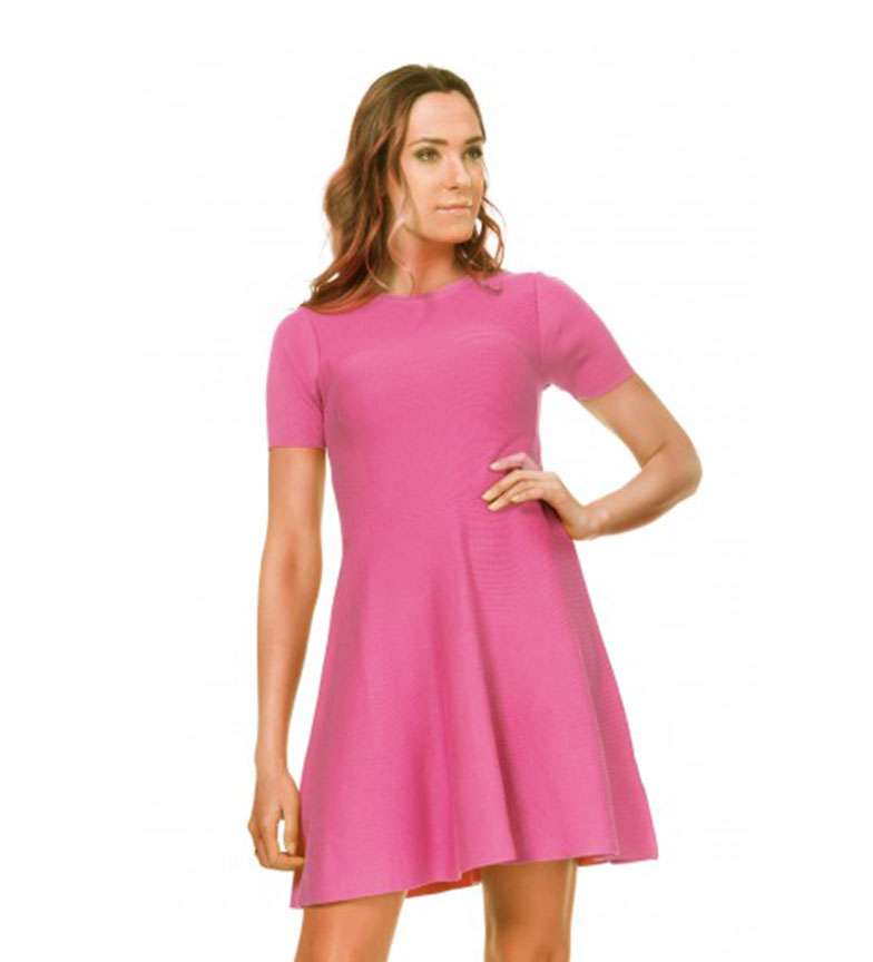 Comprar Tantra Knitted Dress with Pink Flight Skirt