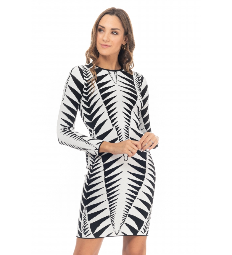Comprar Tantra Vestido Geométrico branco
