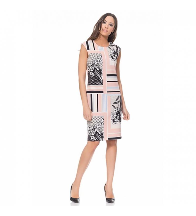 Tantra Rosa Vestido Geomtrico Tantra Estampado Tantra Rosa Vestido Geomtrico Estampado Estampado Vestido HeI9W2YED