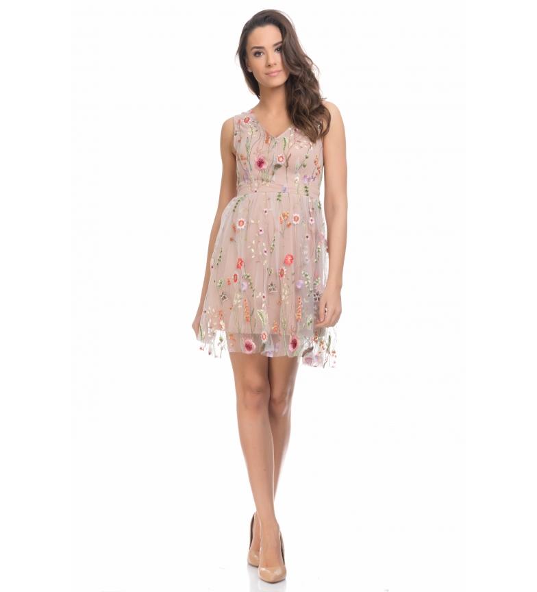 2a58219ec Comprar Tantra Vestido floral beige - Tienda Esdemarca moda, calzado ...