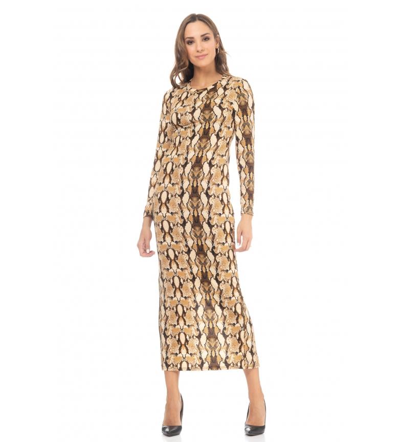 Comprar Tantra Dress Midi Geometric beige